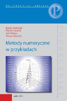 Metody numeryczne w przykładach