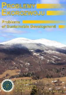 Problemy Ekorozwoju : studia filozoficzno-sozologiczne Vol. 8, Nr 1, 2013