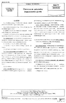 Oznaczanie wskaźnika zagęszczenia gruntu BN-77/8931-12