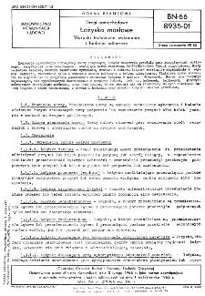 Drogi samochodowe - Łożyska mostowe - Warunki techniczne wykonania i badania odbiorcze BN-66/8935-01