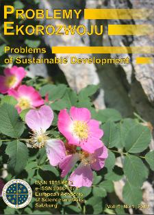 Problemy Ekorozwoju : studia filozoficzno-sozologiczne Vol. 9, Nr 1, 2014
