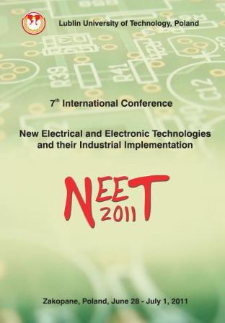 7th International Conference New Electrical and Electronic Technologies and their Industrial Implementation