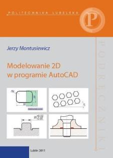 Modelowanie 2D w programie AutoCAD