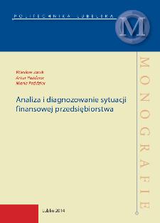Analiza i diagnozowanie sytuacji finansowej przedsiębiorstwa