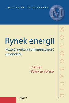 Rynek energii : rozwój rynku a konkurencyjność gospodarki